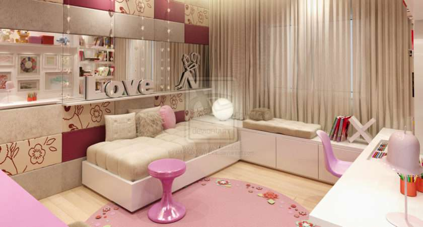 Teen Room Designs Young Interior Designers Pink Design