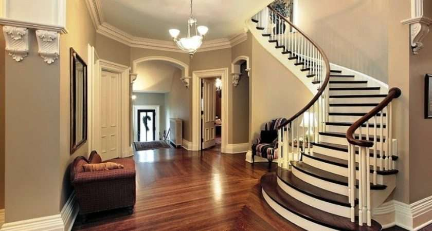 Theme Day Paint Colors Hallways Stairs