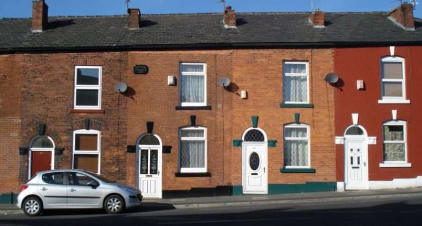 These Traditional Brick Built Terraced Houses Kings Road Hurst