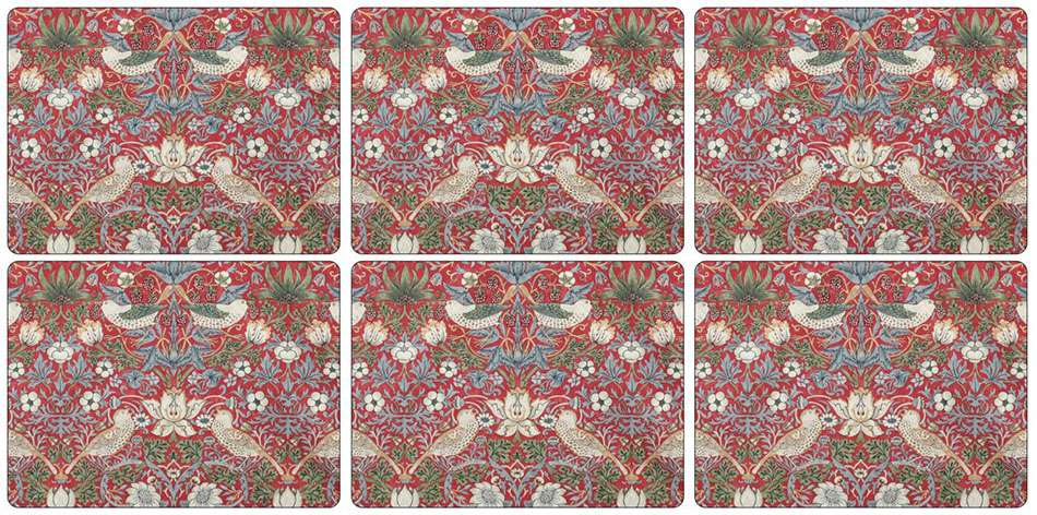 Thief Red Placemats Pimpernel Brands