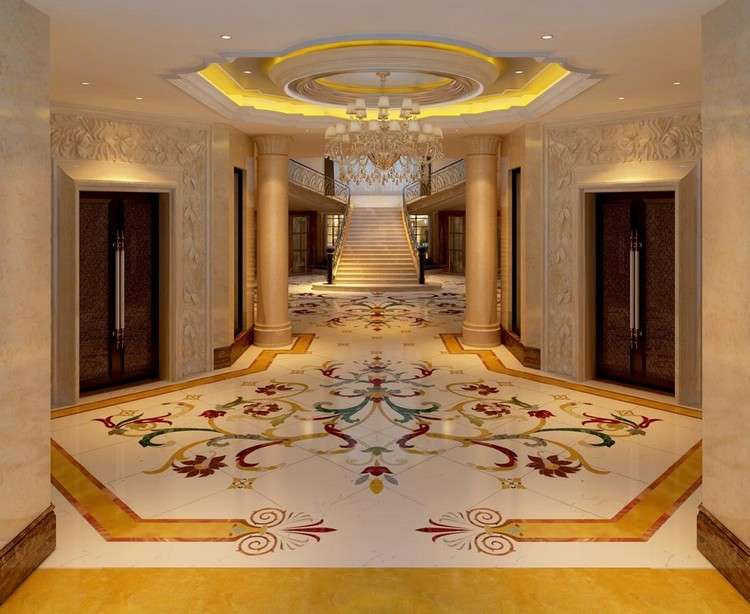 Tile Designs Marble Flooring Beautiful