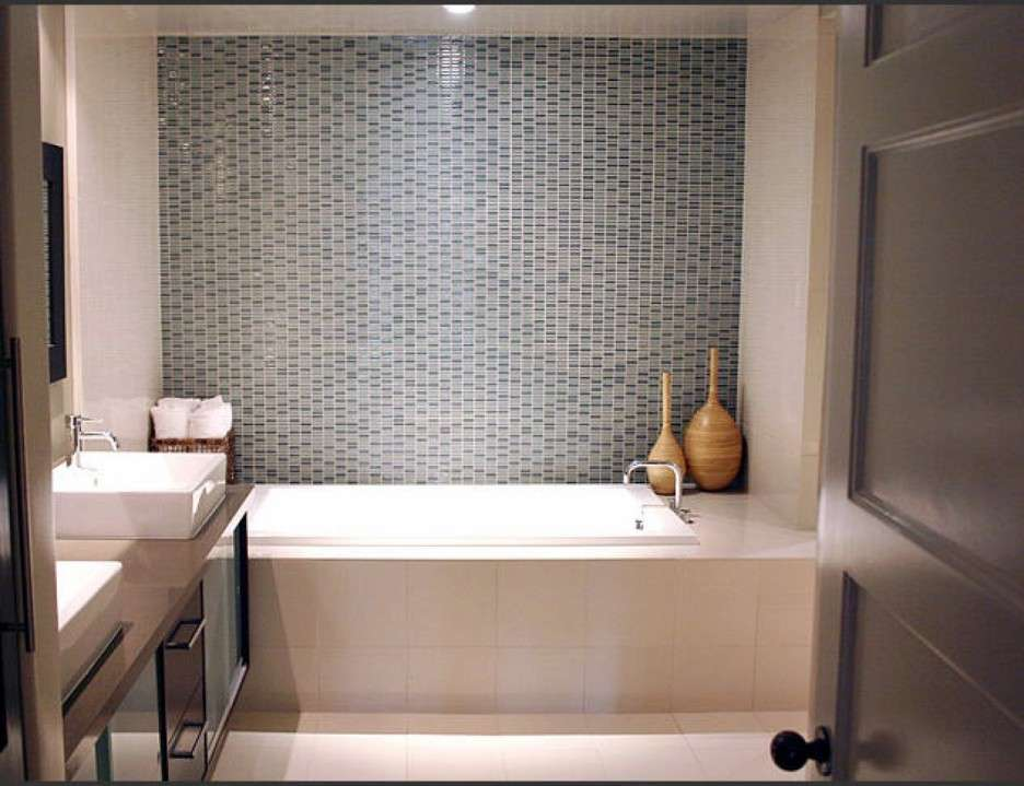Tile Ideas Gorgeous Small Bathroom Green Mosaic
