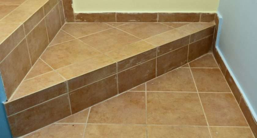 Tile Stairs Howtospecialist Build Step Diy