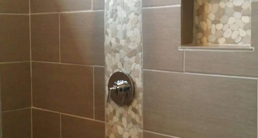 Tiles Bathroom Shower Accent Tile Ideas Awesome