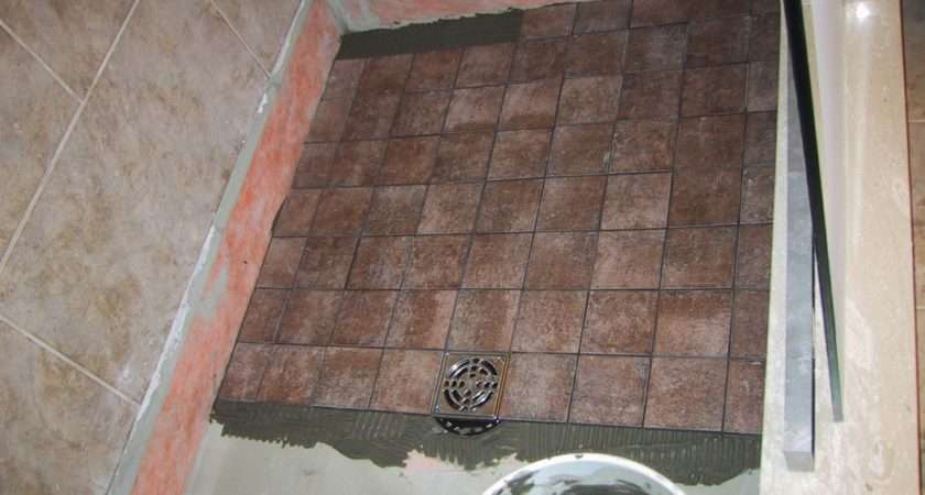 Tiles Cut Floor Level Tile Grout