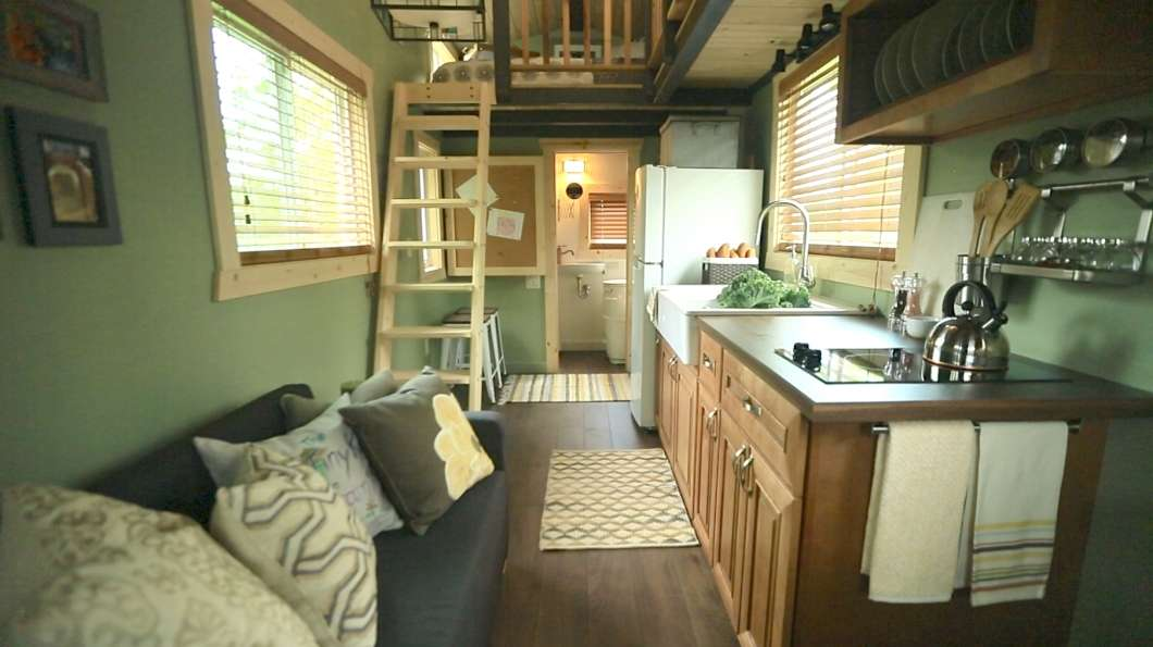 Tiny House Kitchen Minnesota