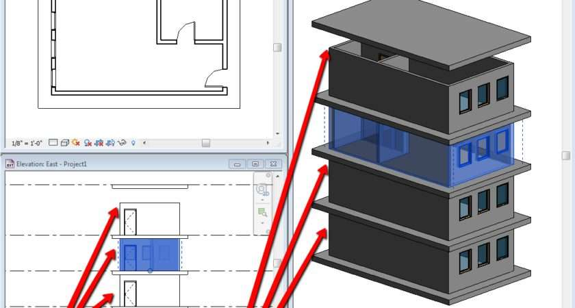 Tip Variable Wall Heights Revit Groups Stuff
