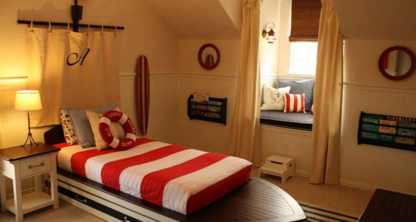 Toddler Boy Nautical Bedroom Traditional Kids