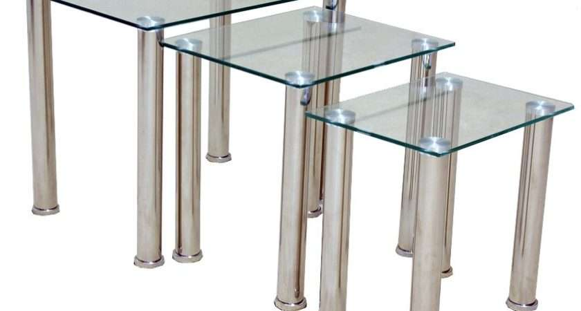 Togo Clear Nest Tables