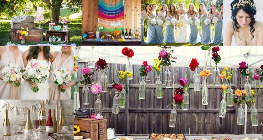 Top Color Theme Spring Wedding