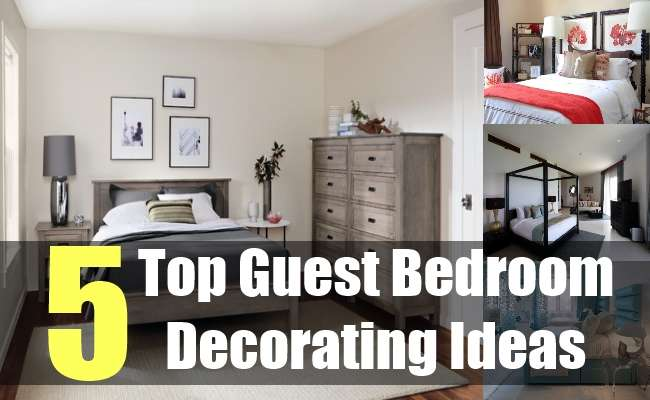 Top Guest Bedroom Decorating Ideas Tips