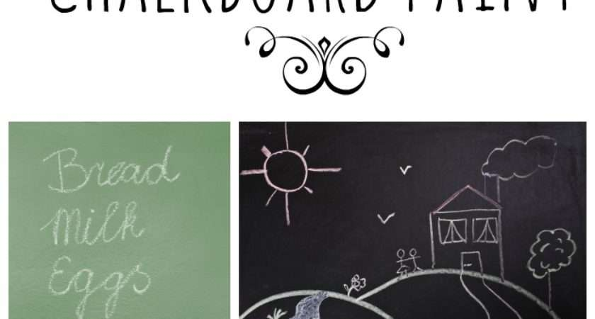Totally Awesome Ways Chalkboard Paint Mommy