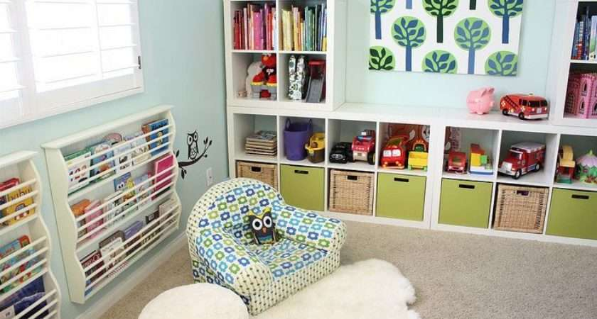 Toy Storage Ideas Real Rooms Boys Pinterest