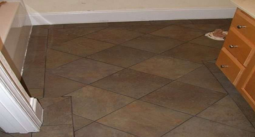 Traditional Bathroom Tile Flooring Floor