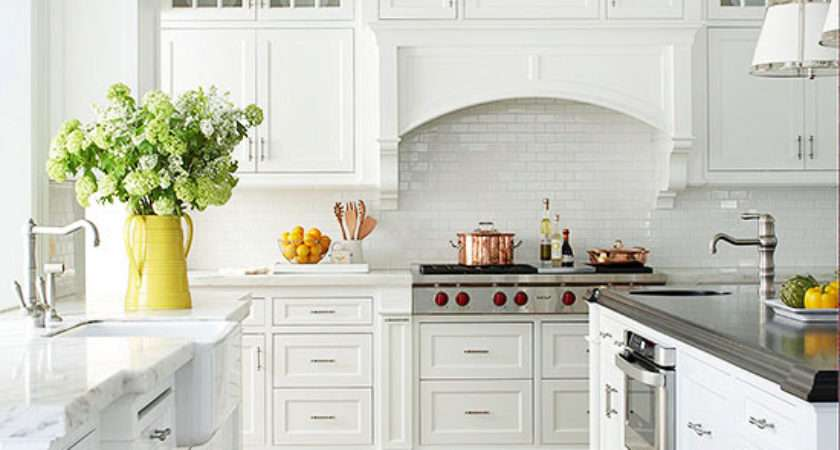 Traditional Cottage Style Kitchen Spacious Light