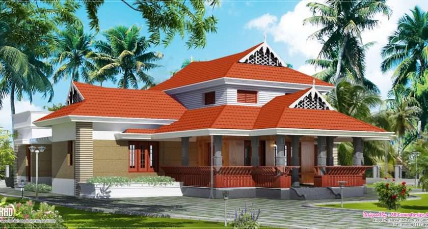 Traditional House Square Feet Kerala Home Design