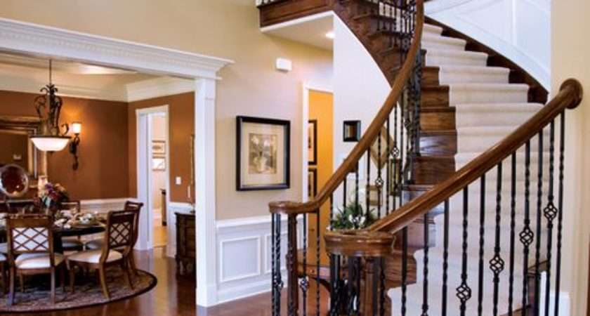 Traditional Staircase Wall Sconce Hardwood Floors
