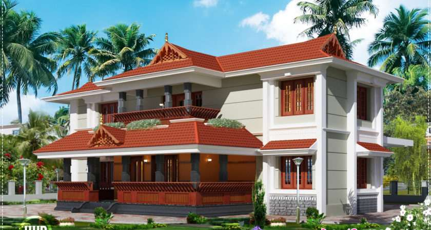 Traditional Style Home Design Feet House