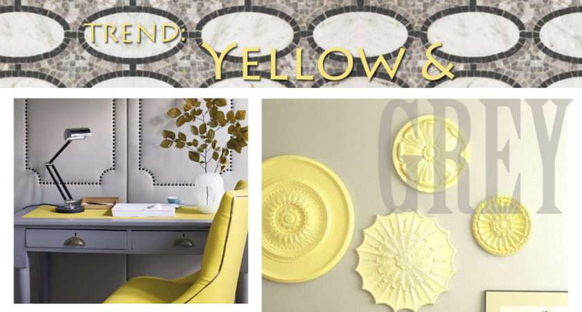 Trend Yellow Grey Apartments Like Blog
