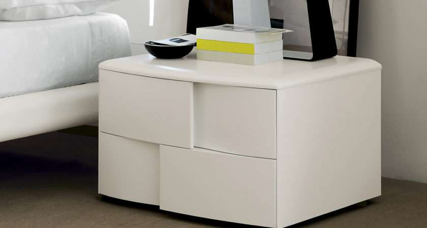 Trendy Bedside Cabinet Cabinets Contemporary Furniture
