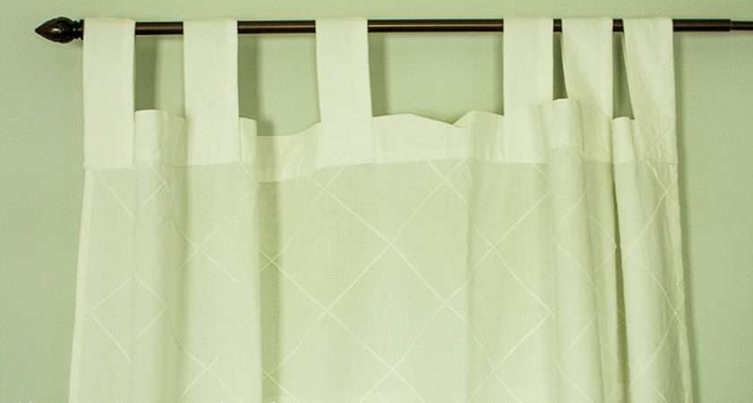 Turn Tab Top Curtains Into Hidden Quick Easy