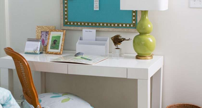 Turquoise Kids Pin Board Transitional Girl Room