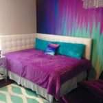 Turquoise Purple Bedroom Home Design