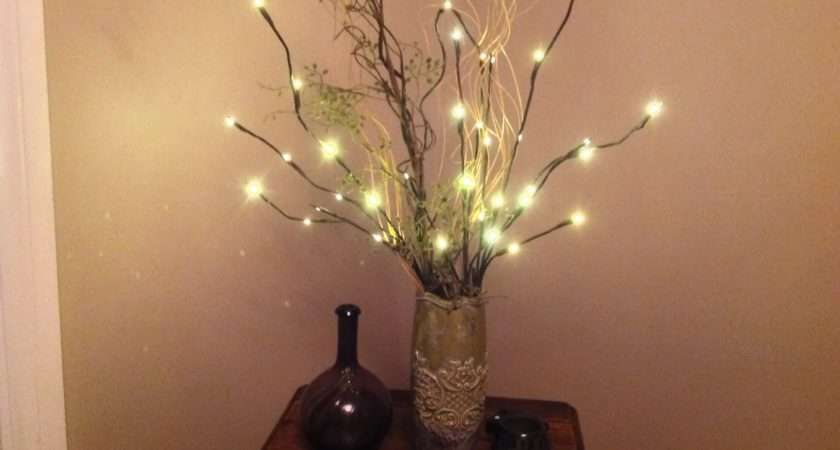Twigs Lighted Floral Branches Willow Electric Twig