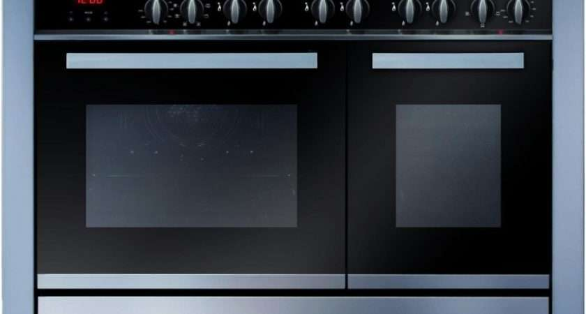 Twin Cavity Range Cooker Electric Ovens Gas Hob