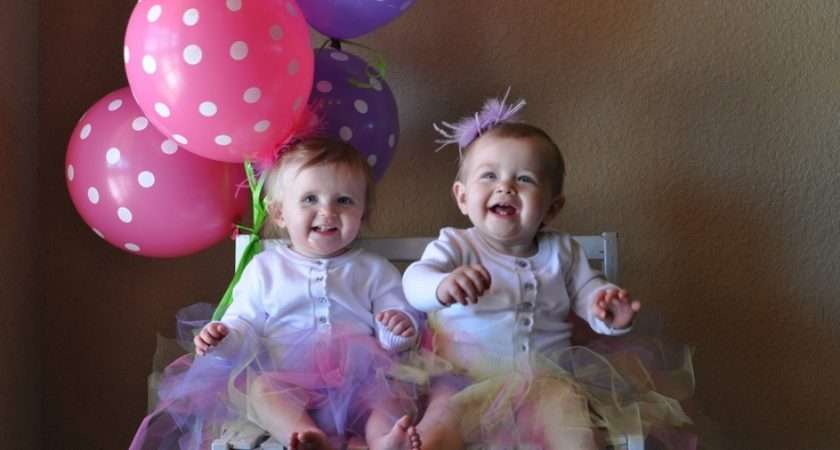 Twins Birthday First Party Ideas Pinterest