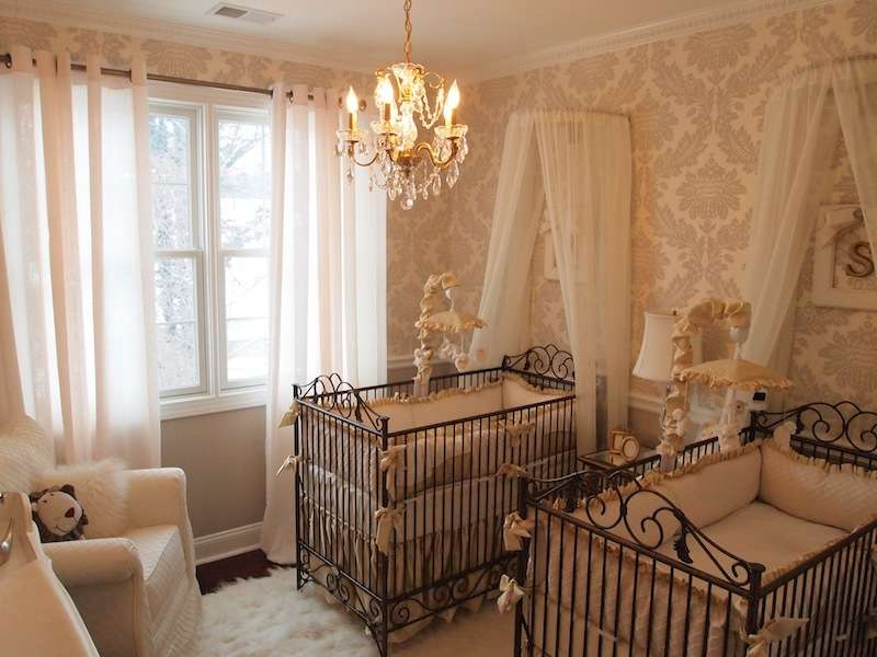 Twins Neutral Elegance Nursery Project