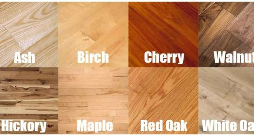 Types Hardwood Flooring Species Styles Edging