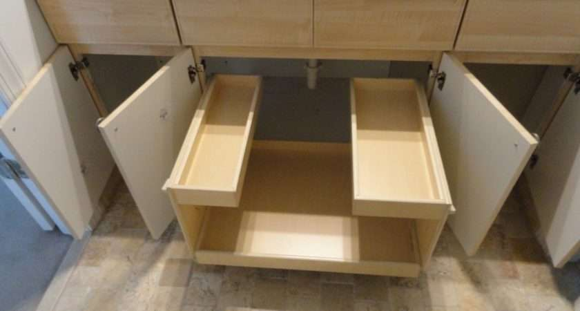 Under Sink Bathroom Storage Organization Pinterest