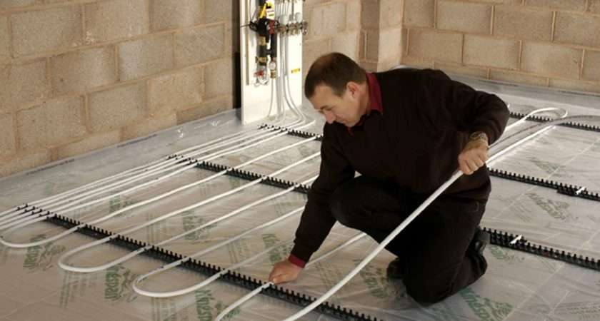 Underfloor Heating Available Either Wet System Dry