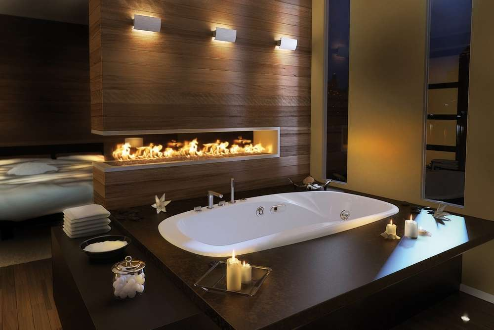 Unique Bathroom Lighting Design Ideas Accent