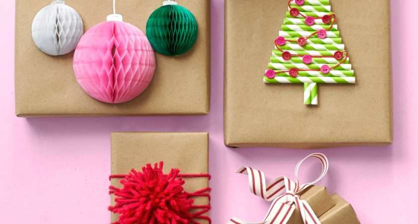 Unique Gift Wrapping Ideas Christmas Wrap