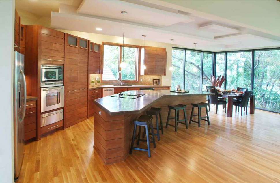 Unique Kitchen Islands Designs Multi Level Island
