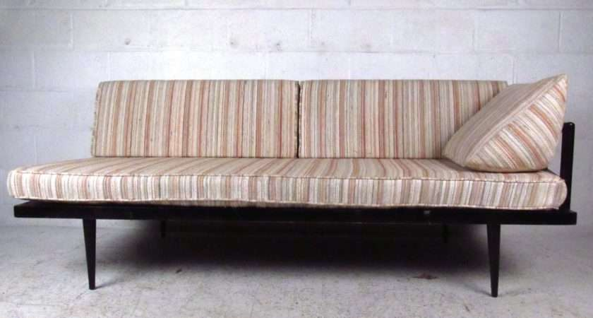Unique Mid Century Modern Daybed Settee Stdibs