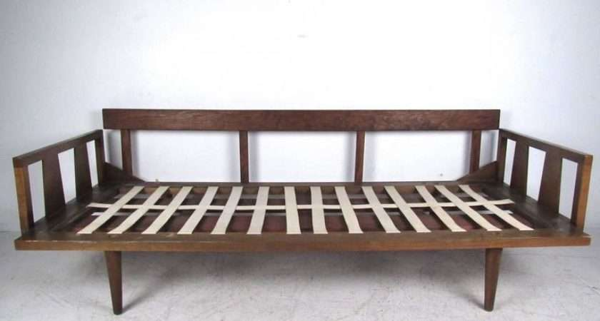 Unique Mid Century Modern Daybed Sofa Stdibs
