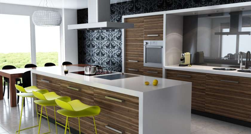 Unique Modern Kitchen Ideas Contemporary