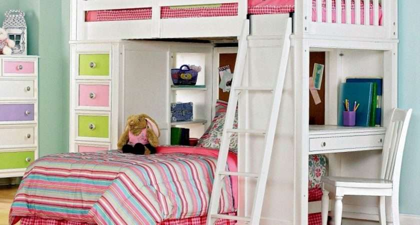 Unique Way Save Space Cool Loft Beds