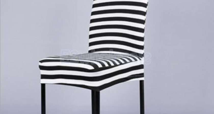 Universal Stretch Short Spandex Dining Chair Cover