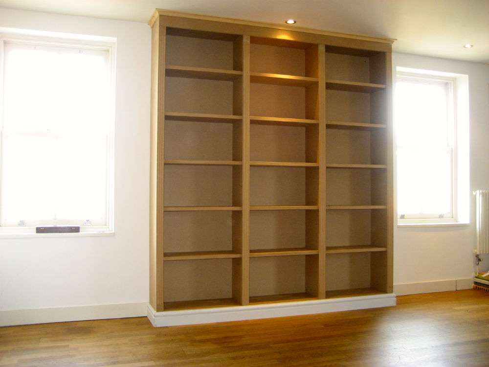 Unpainted Bookcase Central London