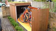 Upgrading Bike Storage Possibilities Modern Outdoor