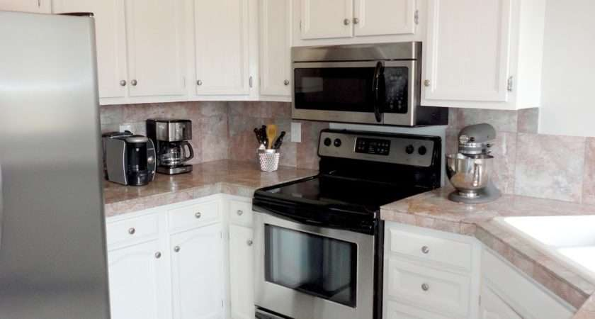 Useful Instruction Paint Tile Countertops Step