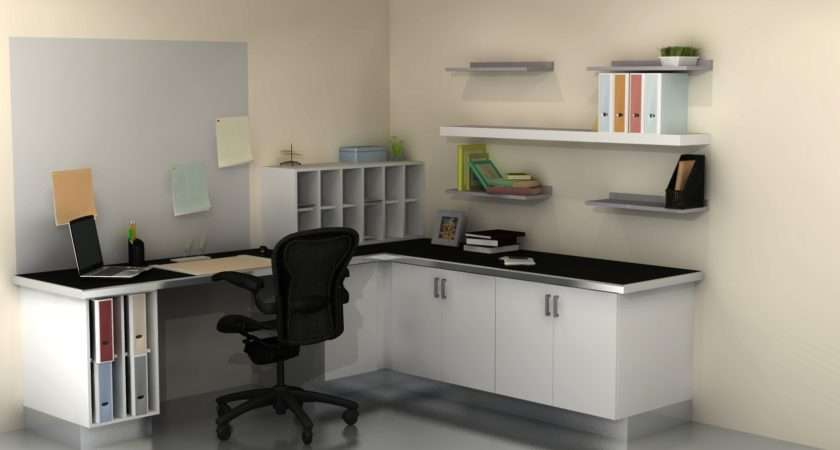 Useful Spaces Home Office Ikea Cabinets