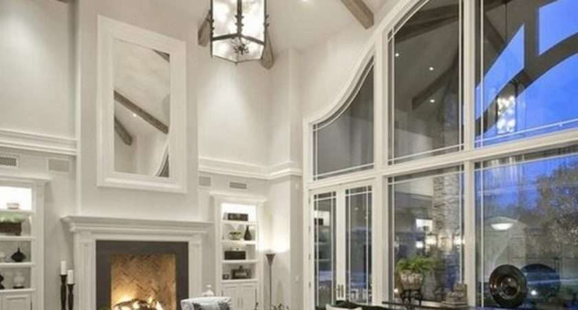 Vaulted Ceiling Lighting Ideas Living Room Cathedral