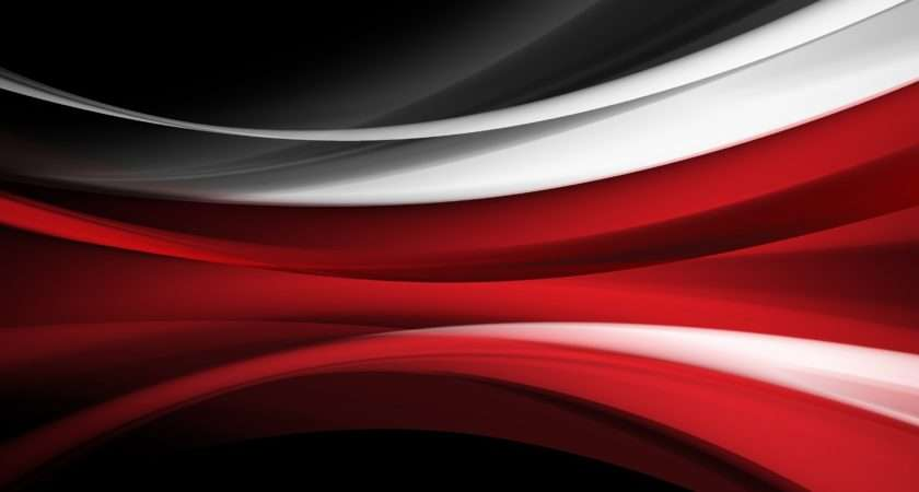 Vector Art Red Stripes Abstract