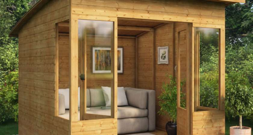 Verano Wooden Summerhouse Sunroom Range Summer Houses