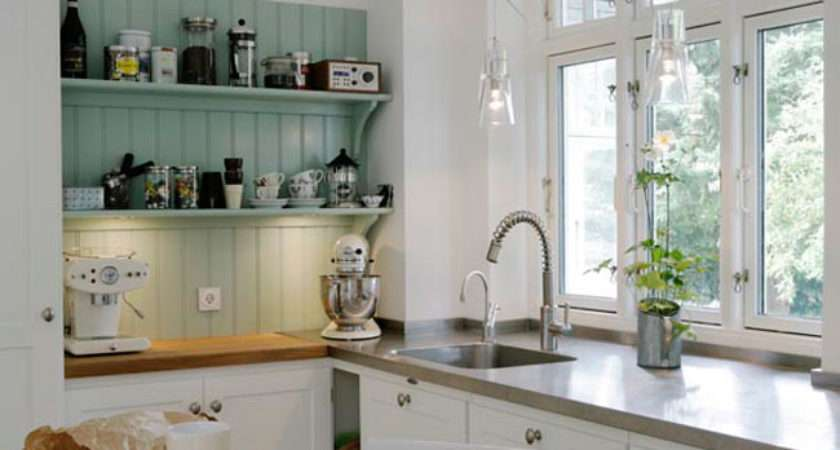 Very Nice Small Kitchen Content Cottage